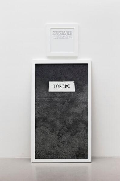 Sophie Calle, 'Torero', 2002