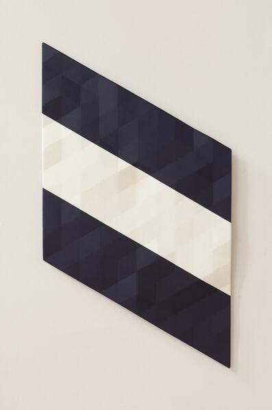 Rupert Deese, 'Upper Merced River / 5 (blue & white & blue)'