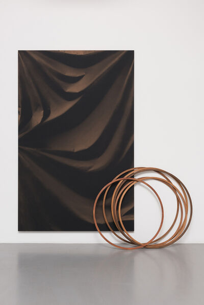 Ulla von Brandenburg, 'Folds and Hoops', 2015
