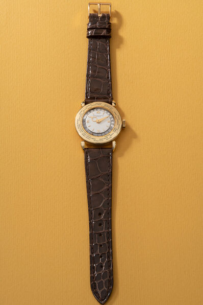 Patek Philippe, 'A very fine and rare yellow gold world time wristwatch', 1946