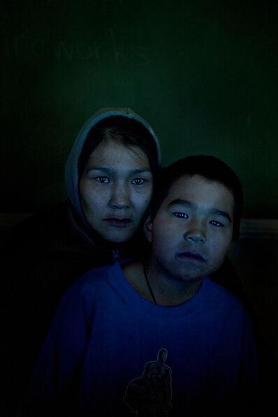 Donald Weber, 'Sula Qunangat and son Robert', 2011