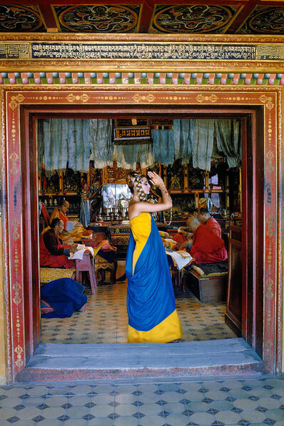 Fred Maroon, 'Outer Mongolia Prayer at the Gandan Monastery in Ulan Bator', 1966