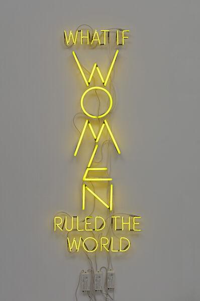 Yael Bartana, 'What If Women Ruled The World', 2016