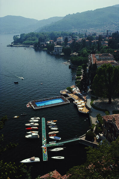 Slim Aarons, 'Hotel On Lake Como', 1983