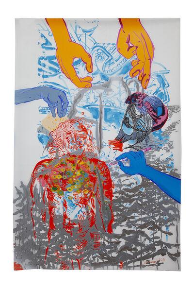 Daniel Heyman, 'The Artist's Hand', 2020