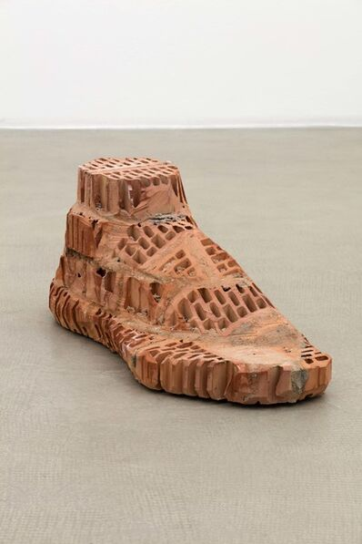 Judith Hopf, 'Brick–Foot', 2016