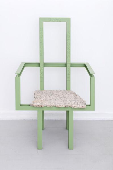Fredrik Paulsen, 'Palazzo Iron Armchair', 2018
