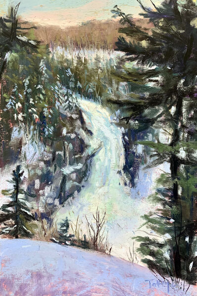 Takeyce Walter, 'Day 5: Frozen Falls', February 2020
