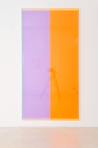 Regine Schumann, 'colormirror violet orange bonn', 2018