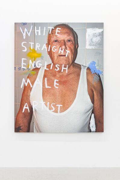 Richie Culver, 'White Straight English Male Artist', 2019
