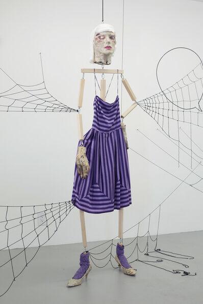 Liz Craft, 'Spider Woman Purple Dress', 2015