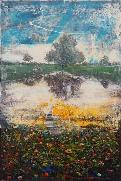 Jernej Forbici, 'Unknown orange dust on dasy flowers', 2020