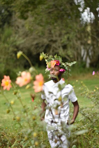 Nomusa Mtshali, 'Intshebe Yami Ubulili Bami (My Beard is My Gender) IV', 2019