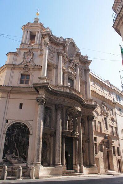 Francesco Borromini, 'Church of San Carlo alle Quattro Fontane', 1638-1667