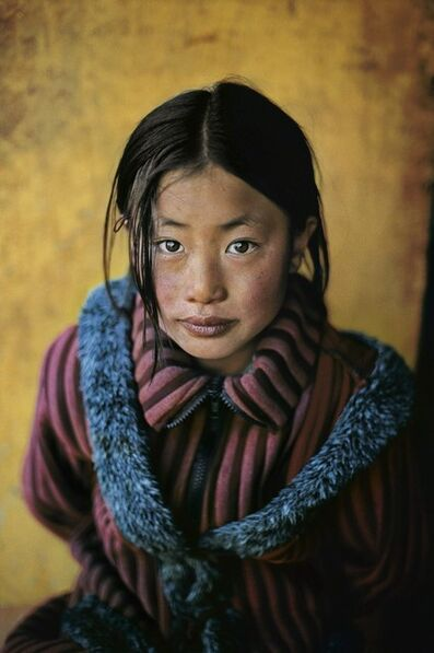 Steve McCurry, 'Girl in a New Coat, Xigaze, Tibet, 2001', 2001