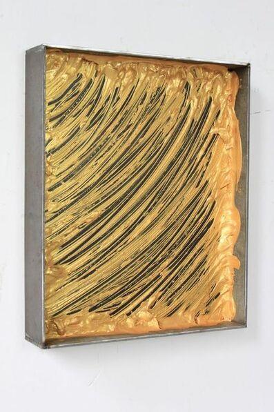 Yang Xinguang 杨心广, 'Untitled (Iron box and gold)', 2014