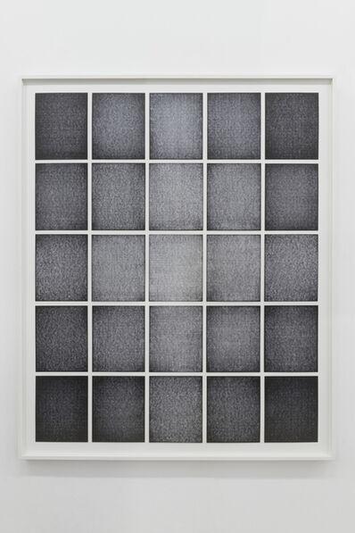 Ignacio Uriarte, 'Cross grading 143,3 × 118,3 × 3 cm', 2018