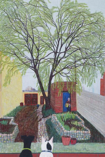 Sarah McEneaney, 'Spring Rain 2017', 2017