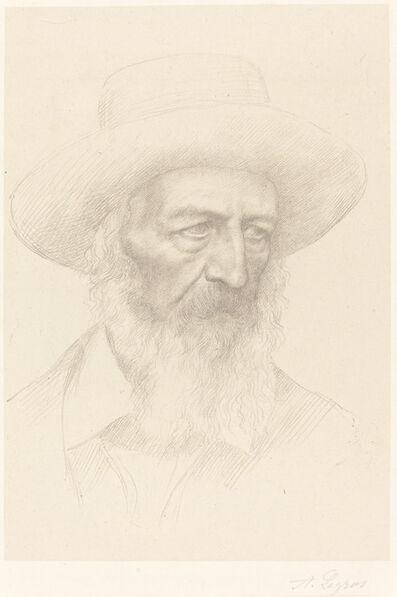 Alphonse Legros, 'Alfred, Lord Tennyson'