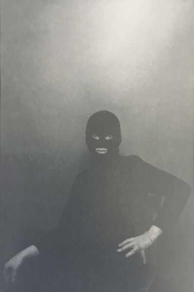 Urs Lüthi, ' Urs Lüthi, performance, self-portrait, detail', 1976