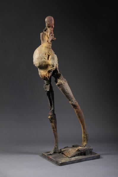 Stephen De Staebler, 'Pregnant Woman Walking, A/P', 2010