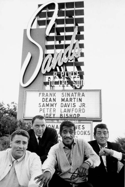 Bob Willoughby, 'Rat Pack in Front of the Sands Hotel'