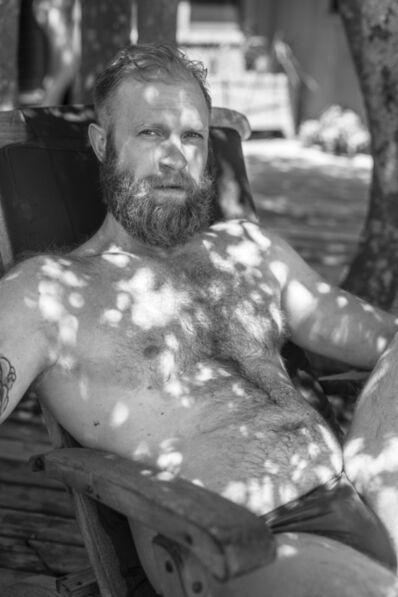 Bryson Rand, 'Zack in Dappled Light (Fire Island)', 2019