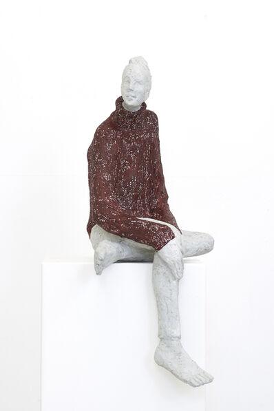 Tina Heuter, 'Mädchen mit Pulli', 2019