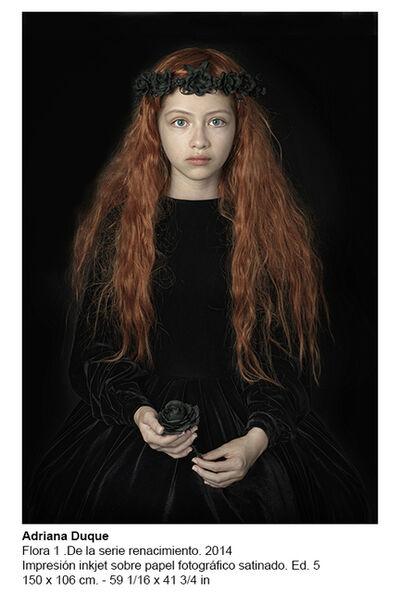Adriana Duque, 'Flora 1. De la serie renacimiento', 2014