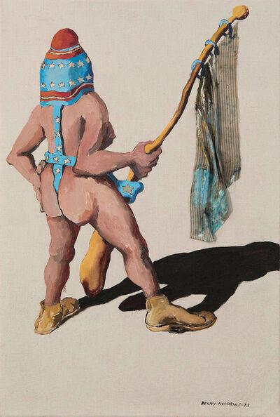 Benny Andrews, 'Sexism Study #5', 1973