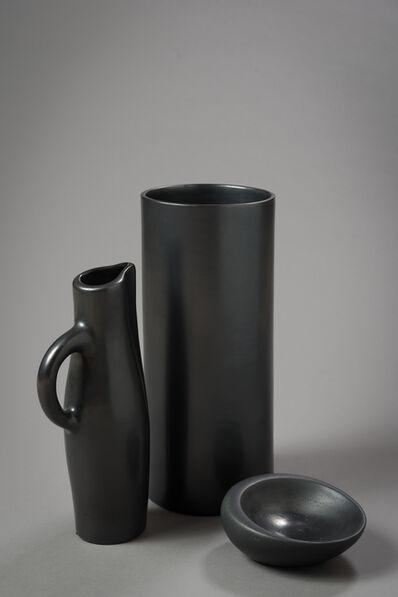 """Georges Jouve, '""""Vase Cylindre"""", """"Pichet"""" & """"Coupe Noirs""""', ca. 1955"""