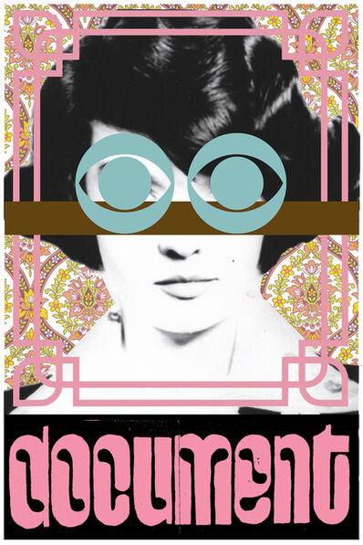 Aaron Rose, 'Document(Pink)', 2019