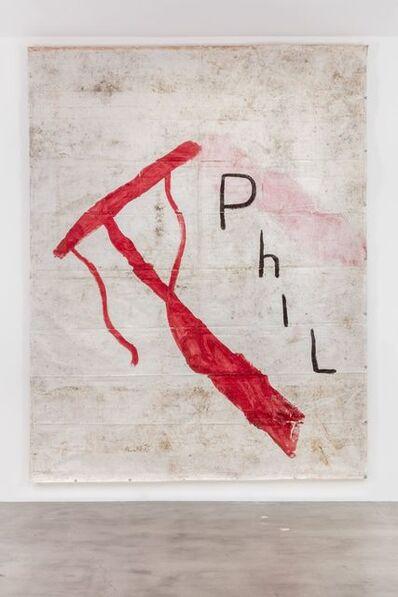 Julian Schnabel, 'Untitled (Phil)', 2015