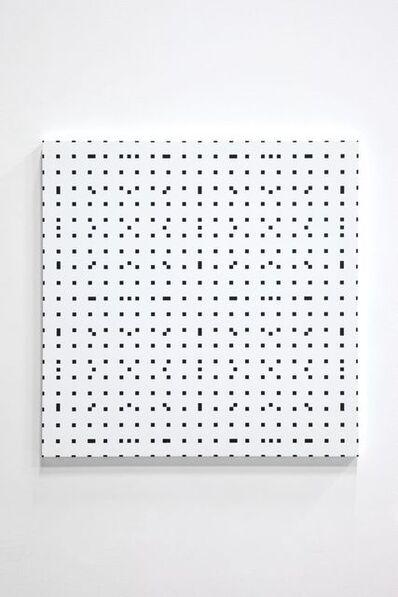 François Morellet, 'Tous les 4, tous les 9', 1974-2006