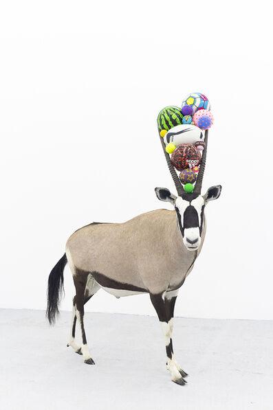 Gabriel Rico, 'Can you smell maths? (Watermelon Oryx)', 2020