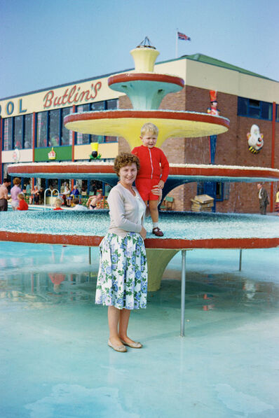 Geoffrey Valentine, 'Fountain at Butlins', 1963