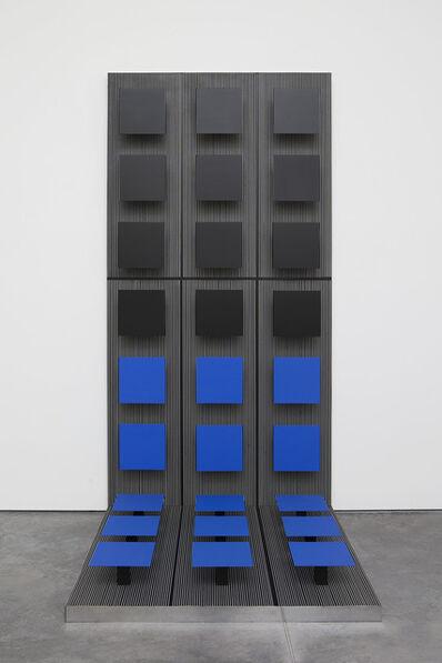 Jesús Rafael Soto, 'Equerre carrée en vibration', 1970