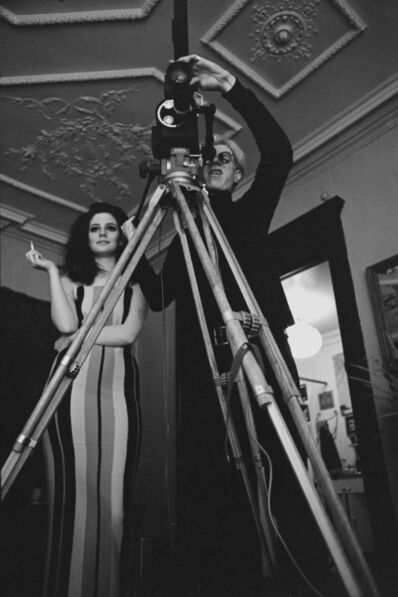 Hervé GLOAGUEN, 'Andy Warhol and Susan BOTTOMLY, NY 1966', 1966