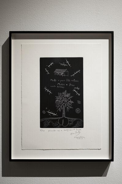 John Pule, 'Planks of a Half Built House', 2010