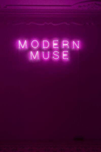 Sylvie Fleury, 'MODERN MUSE', 2019