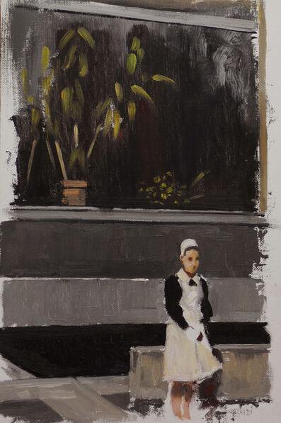Helena Parada-Kim, 'Nurse at a window ', 2017