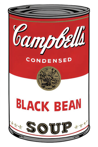 Andy Warhol, 'Campbell's Soup Can 11.44 (Black Bean)', 1960s printed after