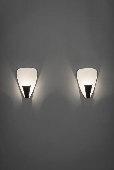 Michel Buffet, 'Pair of sconces B206', 1952