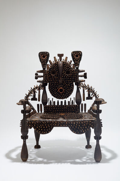 Gonçalo Mabunda, 'The Fluctuating Throne', 2020