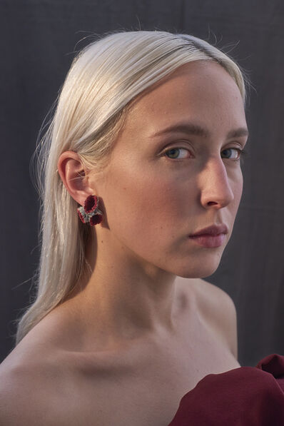 Carina Shoshtary, 'Karma Chroma Earrings', 2015-2017