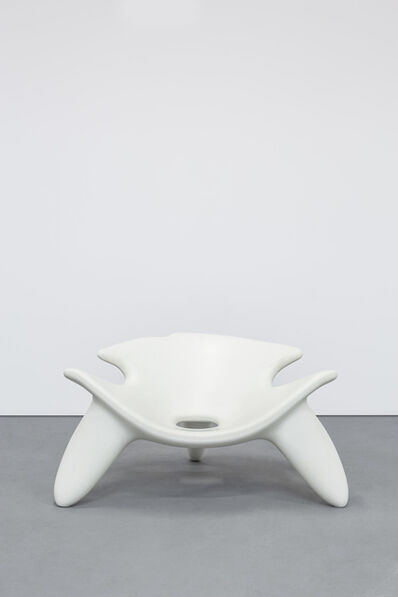 Wendell Castle, 'Concrete Chair White', 2010