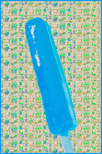 Jack Early, 'Jack Early Popsicle Limited Ed. Multiple - Blue', 2017