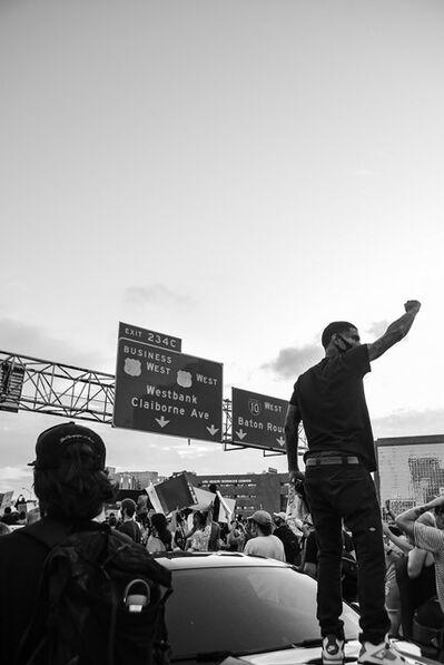 Trenity Thomas, 'BLM Protest', 2020