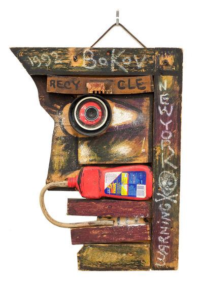 Konstantin Bokov, 'Warning', 1992
