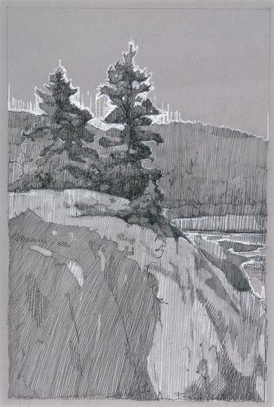 Robert Pollien, 'Schooner Head #1'